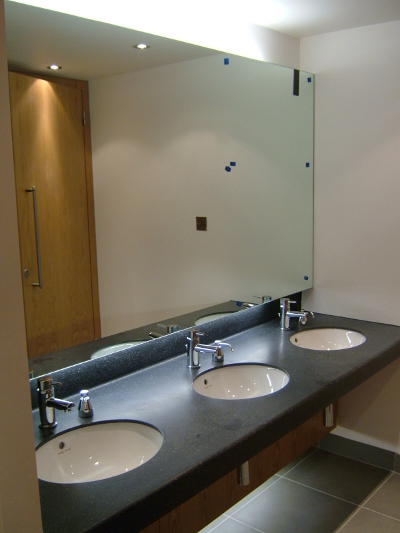 Bathrooms to a high standard at The Square Colchester