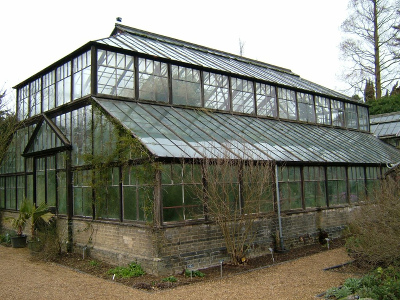 Botanic Gardens Greenhouse, before refurbishment