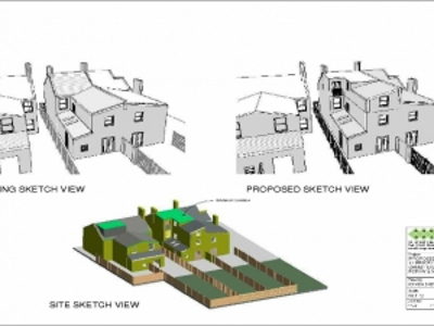 3D perspective of loft conversion